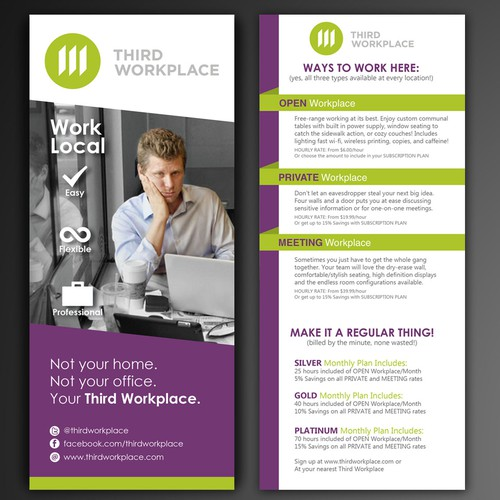 Flyer Design Concept for Third Workplace