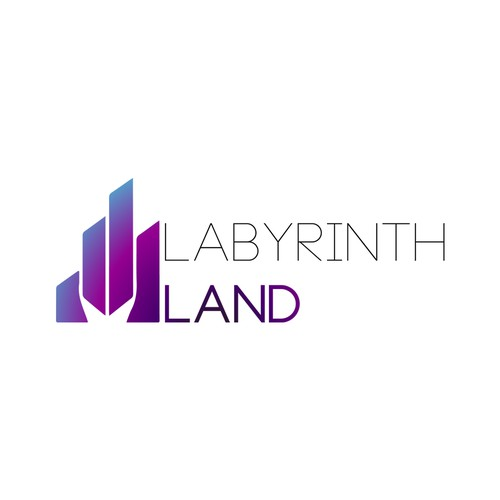 Godess of design! Conjure the most radiant magical logo for labyrinth land!