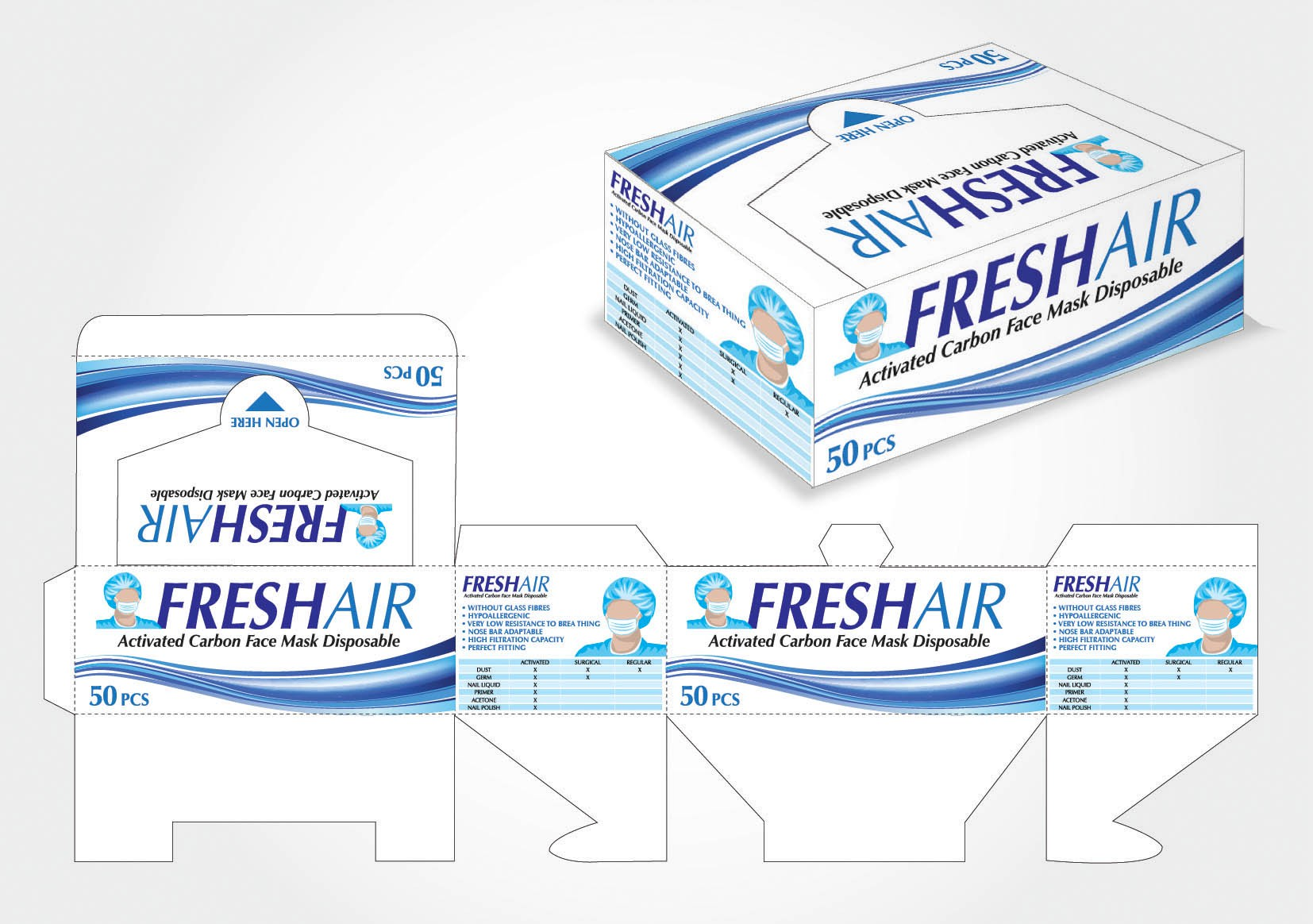 New product packaging wanted for FreshAir