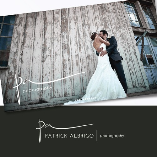 Logo for renowned, professional photographer