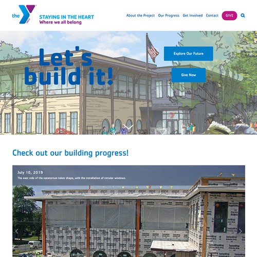 YMCA Capital Project // Burlington, VT