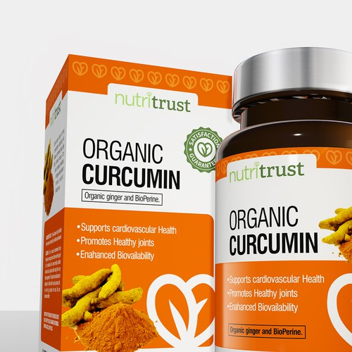 Organic Curcumin Bottle