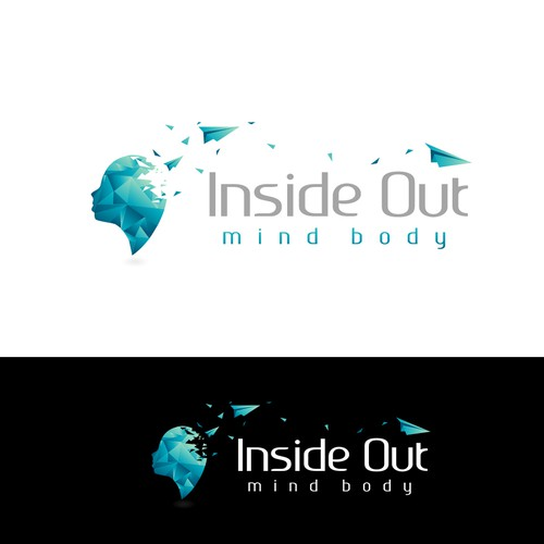 Logo made for the company Inside Out Mind Body