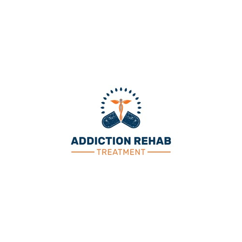 Logo concept for Addiction Rehab Treatment