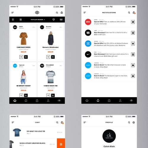 Design the future of e-commerce for Do It Different