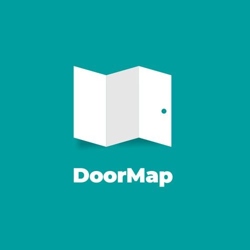 Door + map