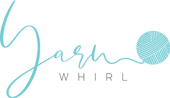 Yarn store logo that will appeal to crafting women