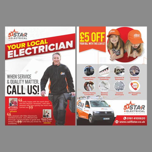 5Star Electrical Leaflet