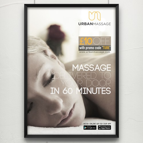 Massage Poster Design
