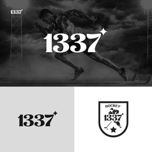 Retro Logo Concept for 1337