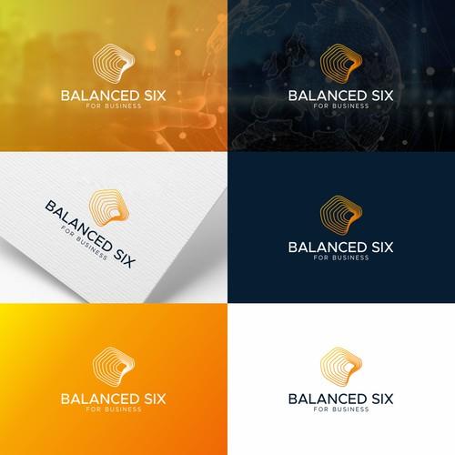 Logo design for Balanced Six