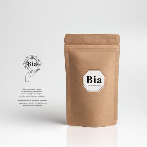 Bia Whey Protein Logo