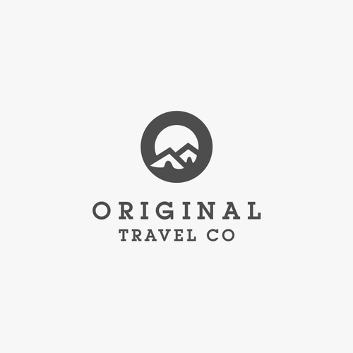 Create a Vintage Logo for a Travel Goods Company