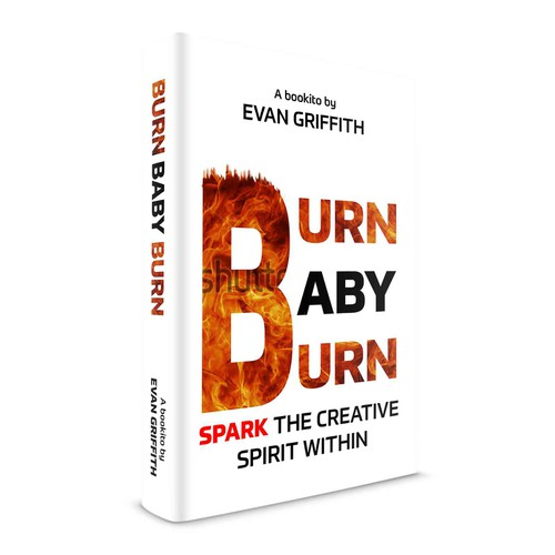 Typography-based design for an attention grabbing book cover