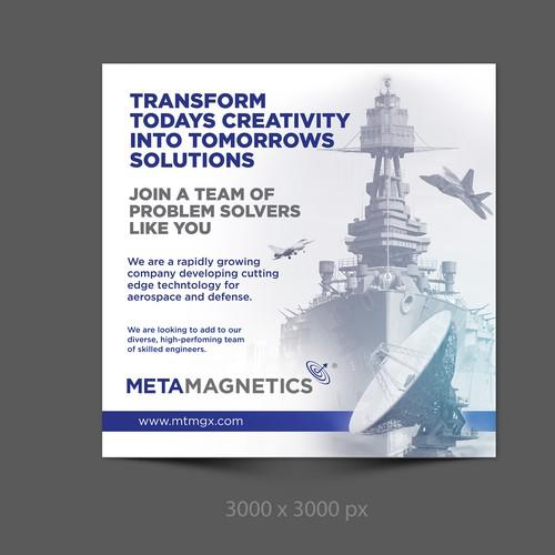 Ad design for Metamagnetics