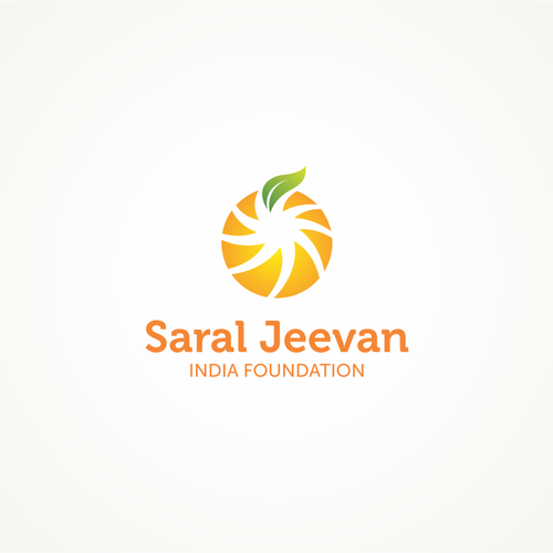 Create the next logo for Saral Jeevan India Foundation
