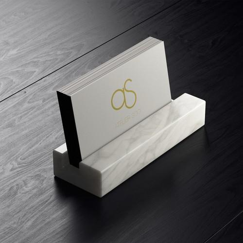 Logo for interior design atelier from France
