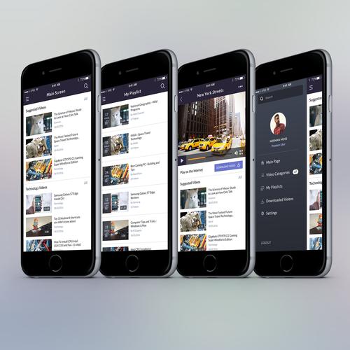 Educational Video Mobile App