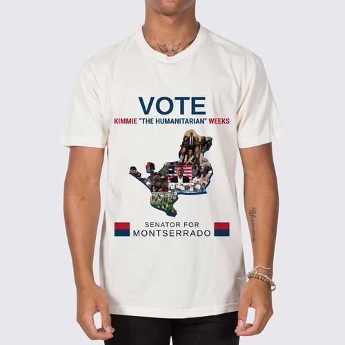 Campaign Tshirt Design