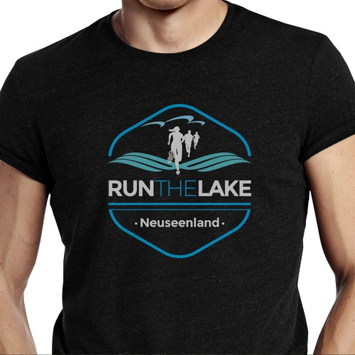 Run the Lake Logo