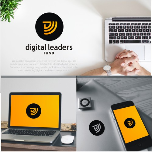 Logo design for the Digital Leaders Fund