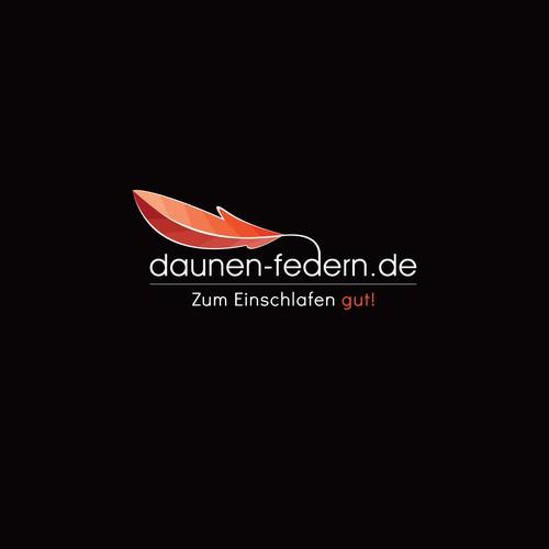 Daunen-federn Logo