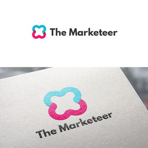 Elegant Logo for The Marketeer