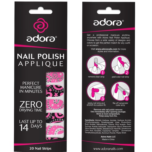 Package design for Adora