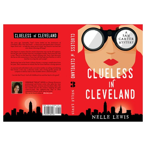 """Book cover for """"Clueless in Cleveland"""""""