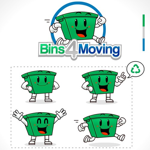 Logo for Bins 4 Moving