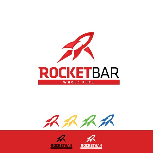 Rocket Bar - GUARANTEED - New logo needed for new energy bar!