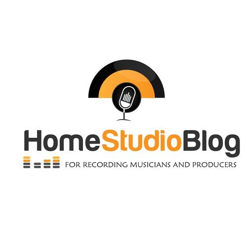 Create a logo for the Home Studio Blog