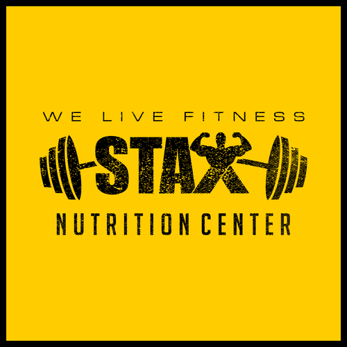 Rugged logo for Stax Nutrition Center