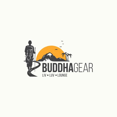 Logo for Buddha Gear.