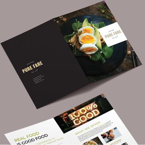 Brochure Design for Restaurant