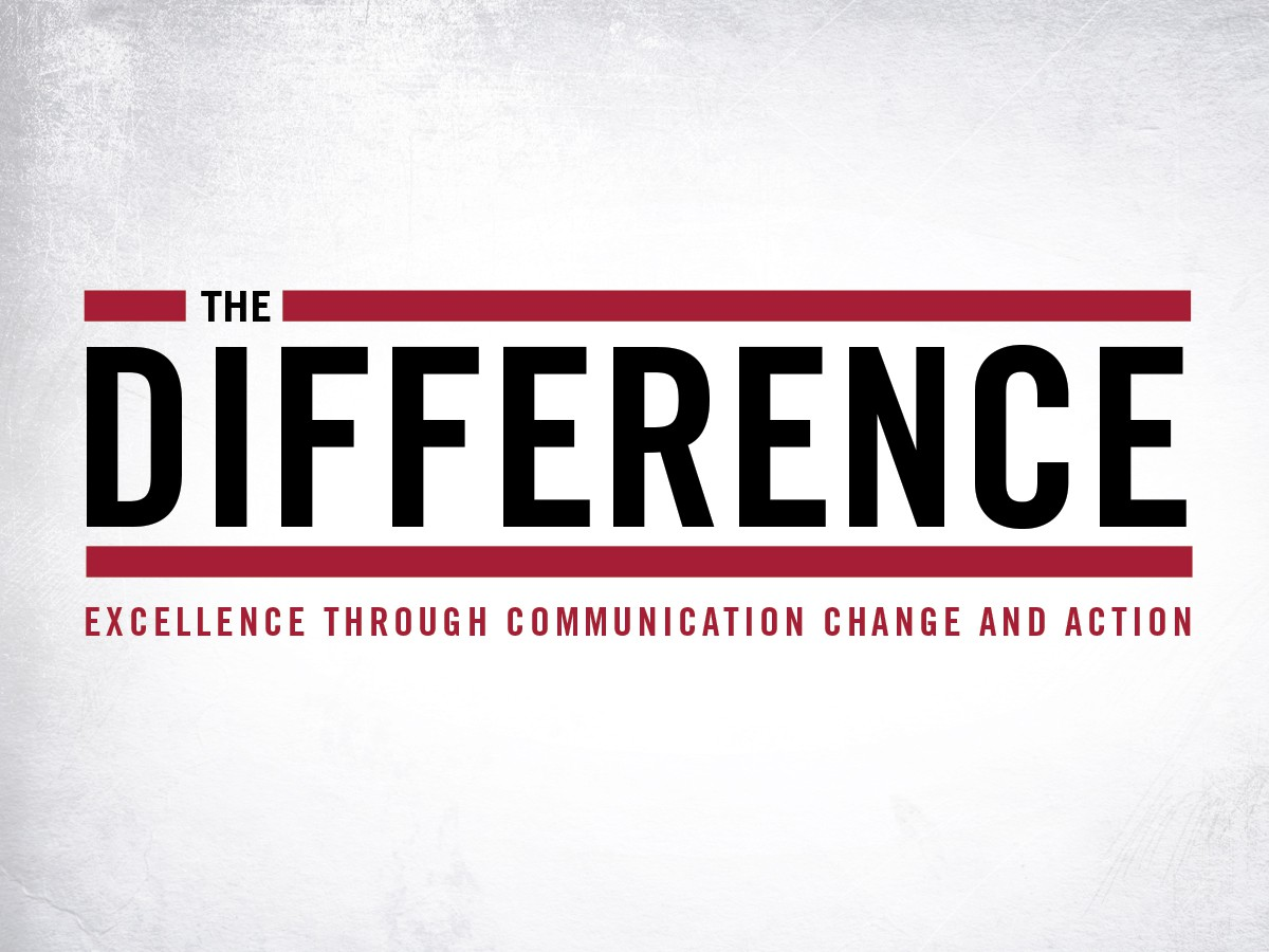 Create the next logo for The Difference