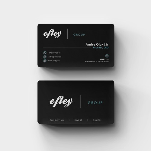 Elegant Sleek Business Card