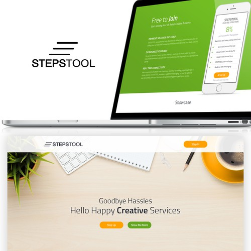 Website Design for Stepstool