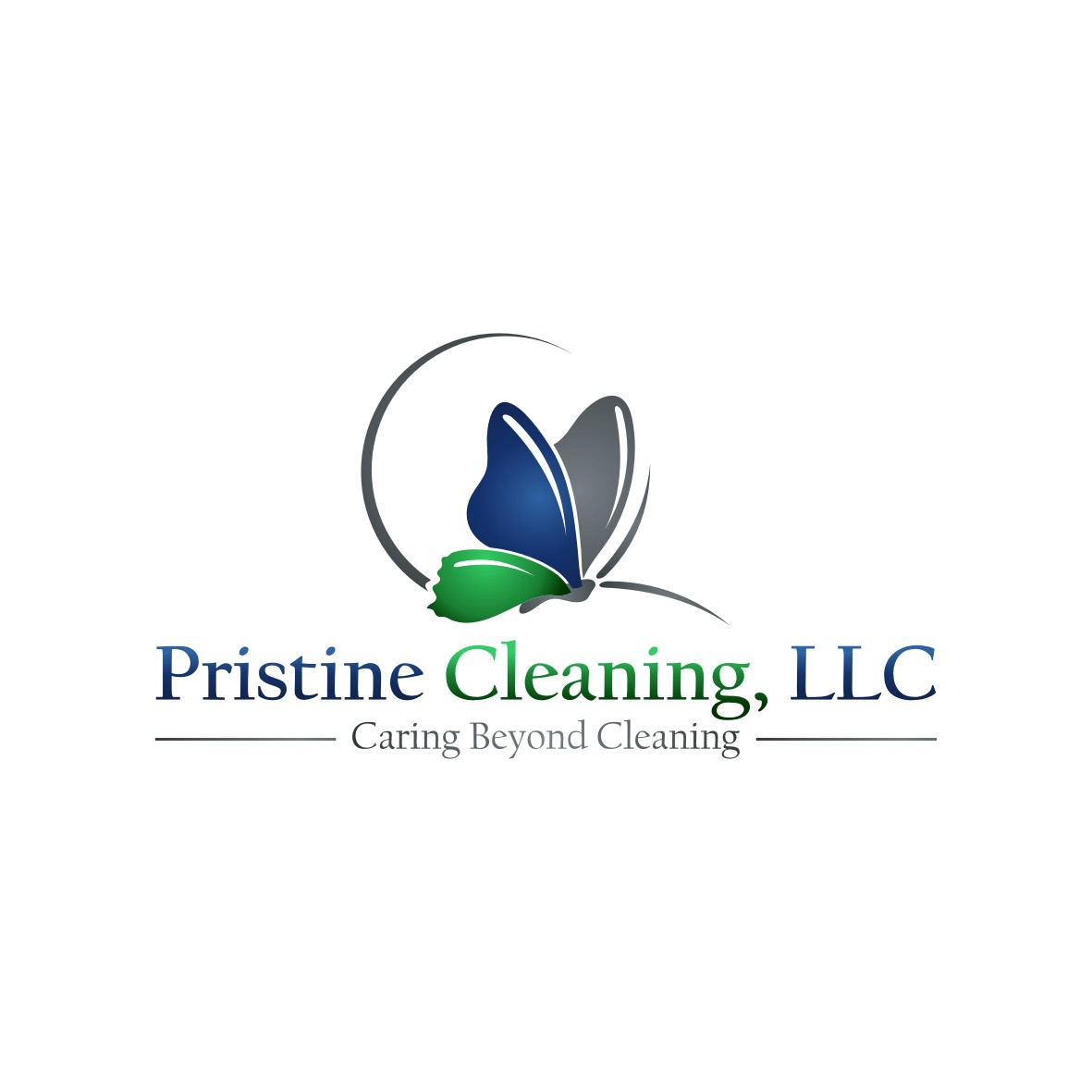 logo for Pristine Cleaning, LLC + more needed after this