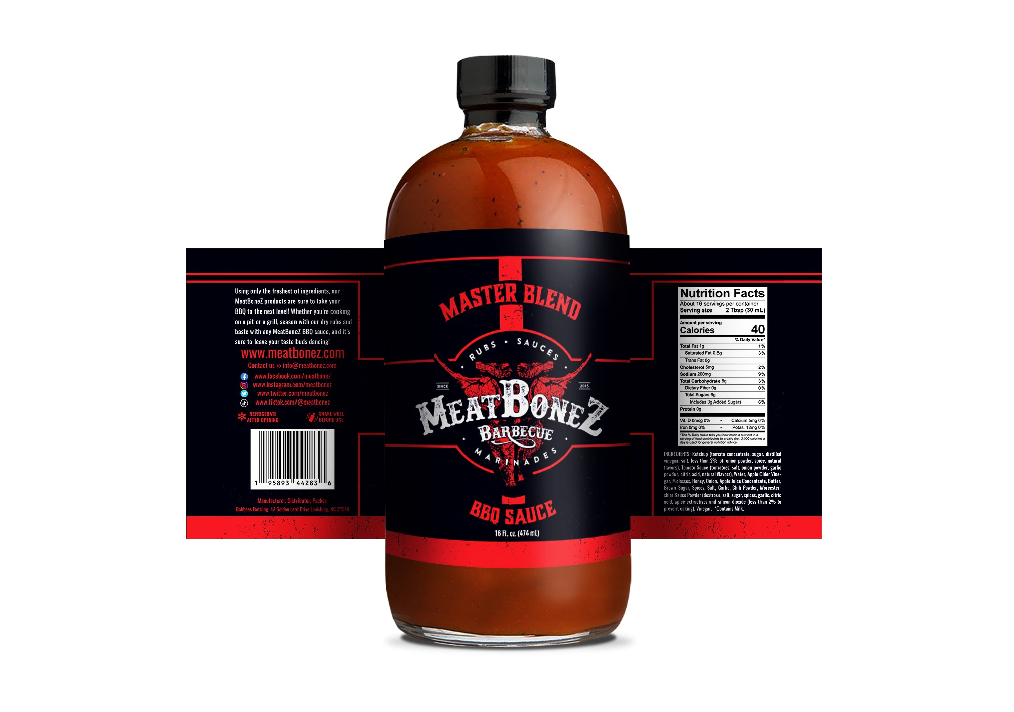 MeatBoneZ Branding Project