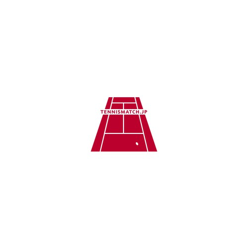 Logo for a tournament site for week-end tennis players
