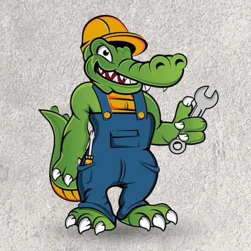 Handy Gator logo