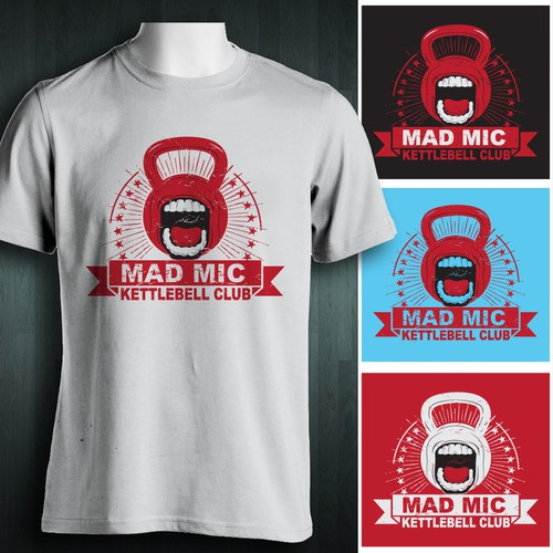 T-shirt design MAD MIX Cettlebell