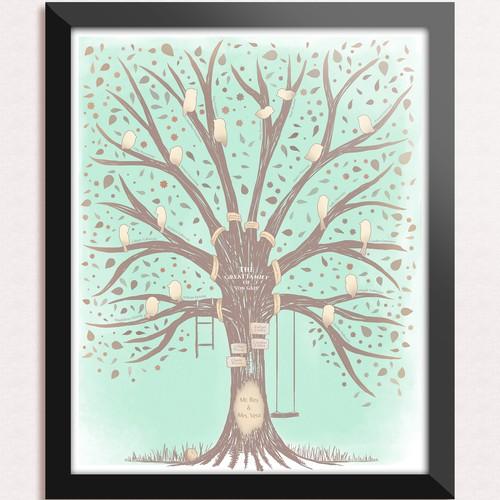 Family Tree Canvas Art