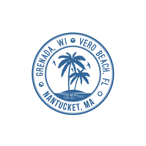 Logo representing coastal vacation homes