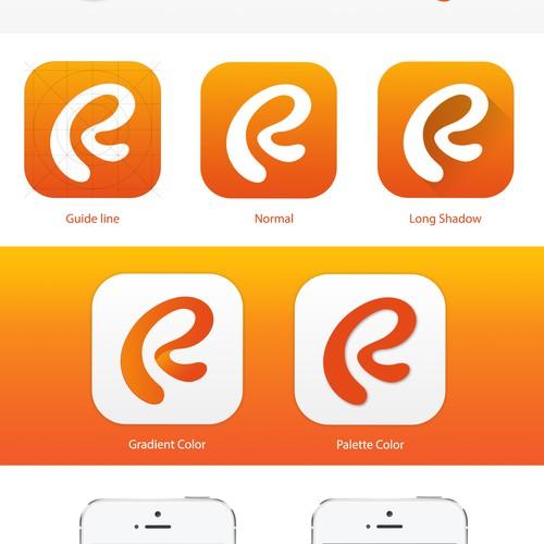 Rule Em Icon Design iPhone App