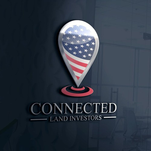 Logo for Connected Land Investors
