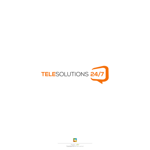 Logo design for TELE SOLUTIONS 24/7