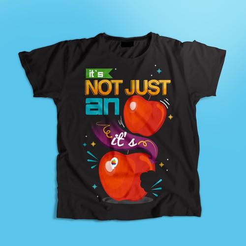 T Shirt for Apple Fan
