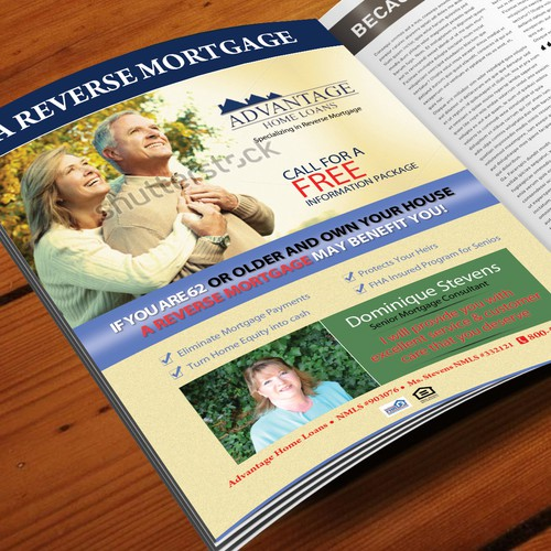 Newspaper ad for Senior Magazine...